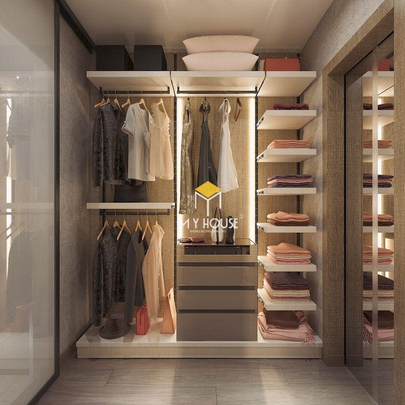 Bố trí ánh sáng trong phòng thay đồ