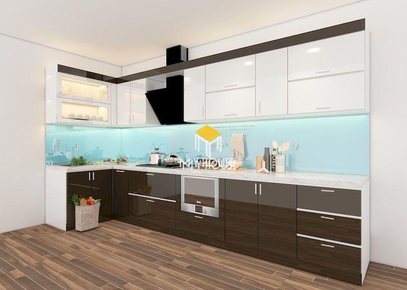 Thiết kế nội thất nhà bếp chung cư