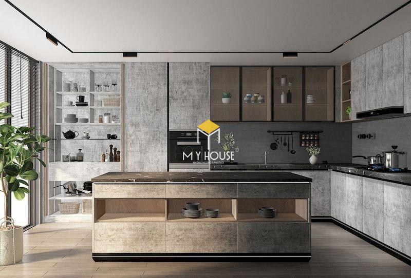 Tủ bếp laminate 3