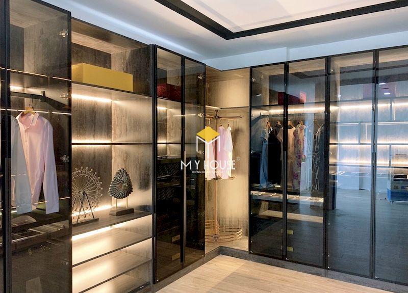 Tủ quần áo cánh kính là phòng trưng bày cá nhân, thể hiện cá tính của gia chủ