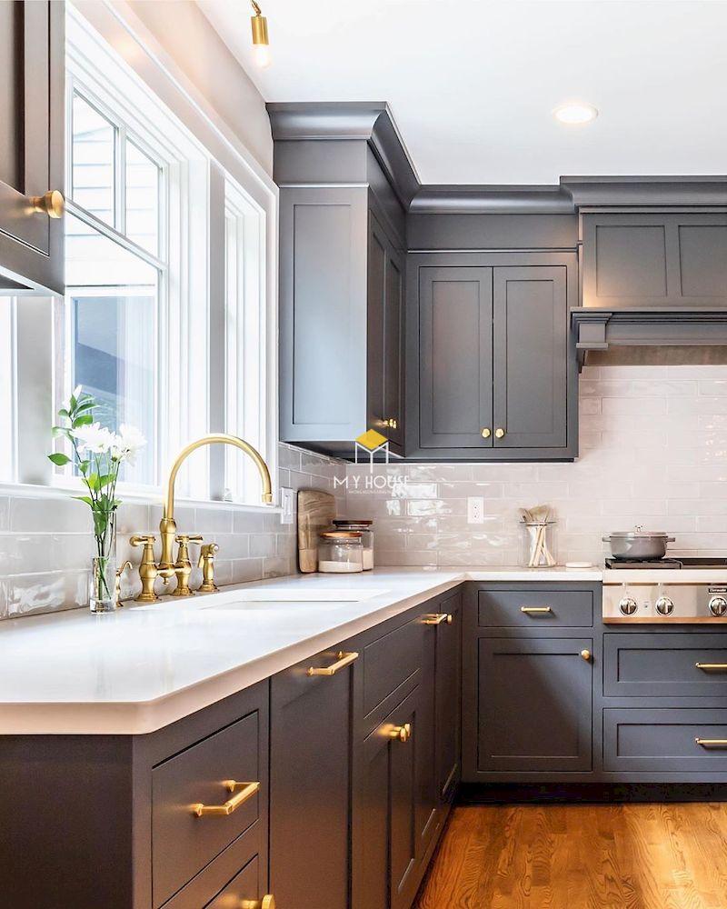 Vì sao lại lựa chọn tủ bếp tân cổ điển cho nội thất phòng bếp