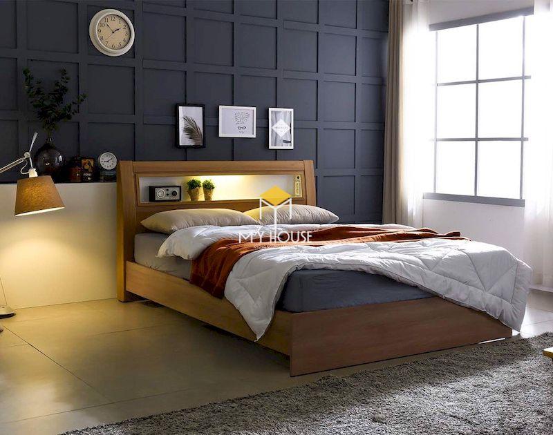 Thiết kế nội thất phòng ngủ gỗ công nghiệp