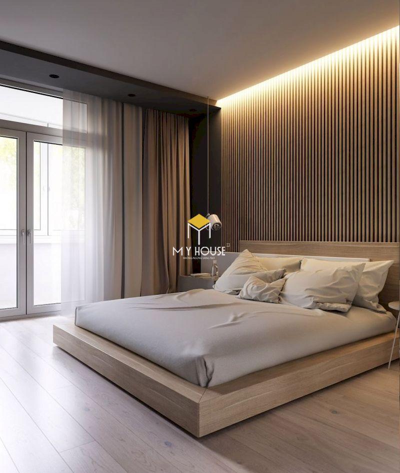 ưu điểm của Giường gỗ công nghiệp