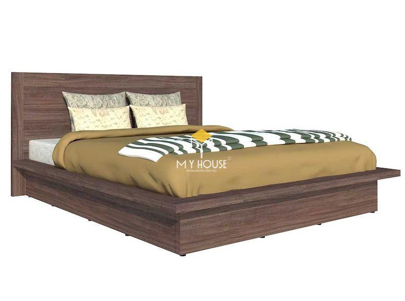 Kích thước của giường gỗ công nghiệp