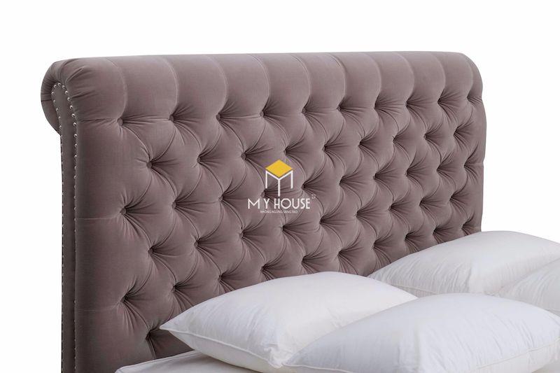 Chất liệu giường ngủ bọc nệm