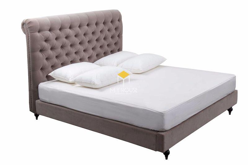 Mẫu giường ngủ bọc nệm đẹp