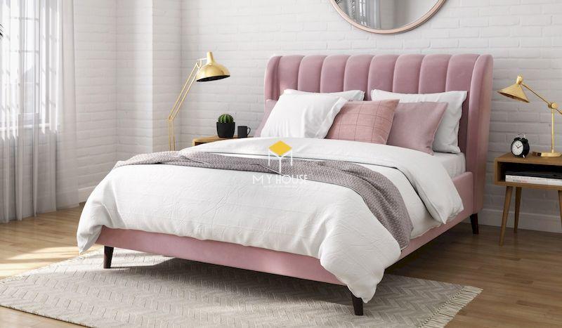 Cấu tạo của giường ngủ bọc nệm