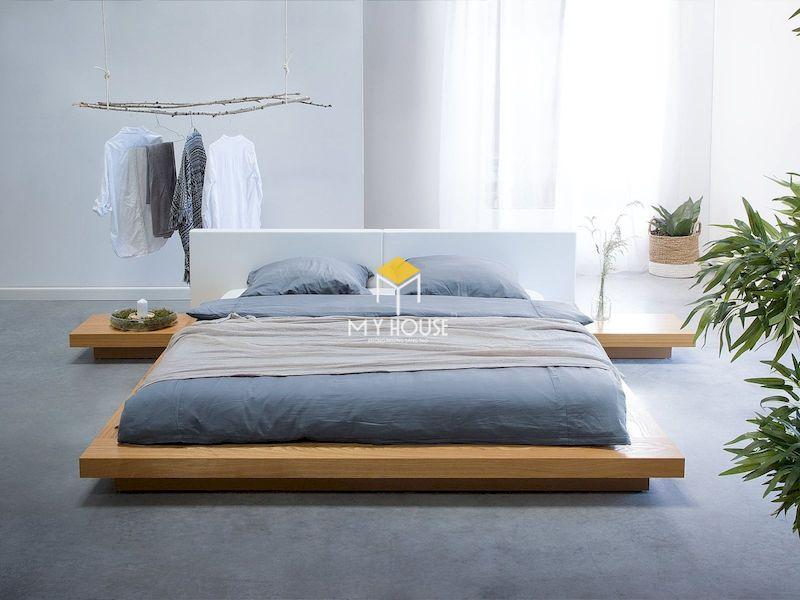 giường ngủ kiểu Nhật phù hợp phòng ngủ từ lớn đến nhỏ