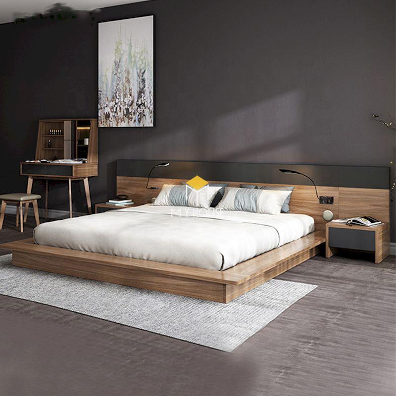 Kích thước giường ngủ phổ biến 1600mm x 2000mm và 1800mm x 2000mm