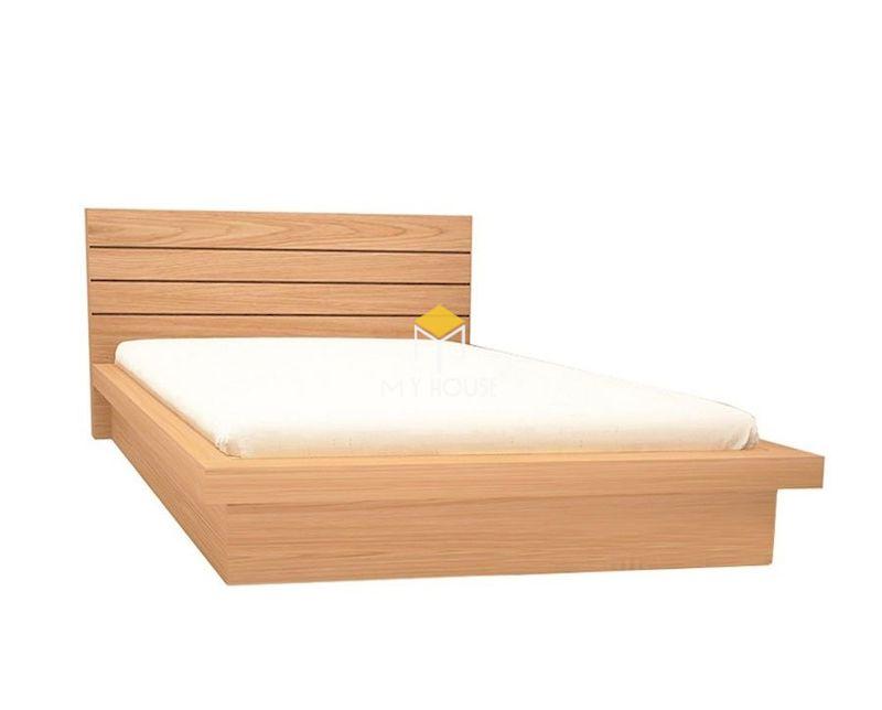 Mẫu giường ngủ gỗ sồi đẹp cho phòng ngủ hiện đại