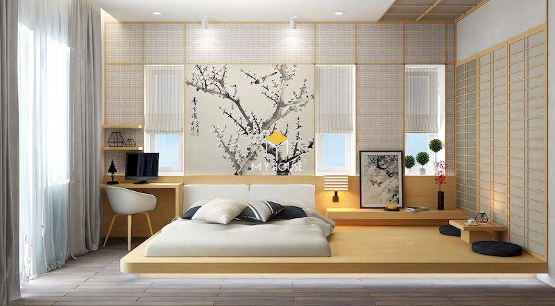 Thiết kế phòng ngủ hiện đại nhưng thông thoáng