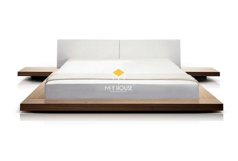 giường ngủ thiết kế tối giản