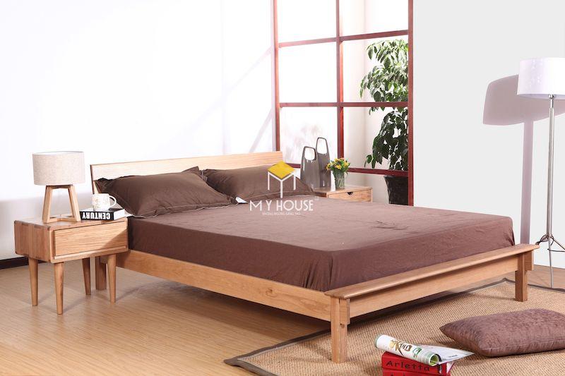 Kích thước giường ngủ kiểu Nhật cũng phụ thuộc vào nhu cầu sử dụng của gia đình