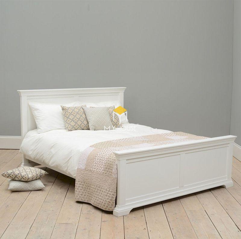 XU HƯỚNG giường ngủ màu trắng đẹp