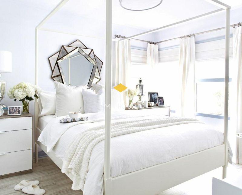 Thiết kế phòng ngủ hiện đại gỗ công nghiệp