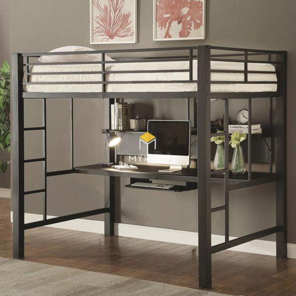 Các lưu ý khi mua giường tầng kết hợp bàn học