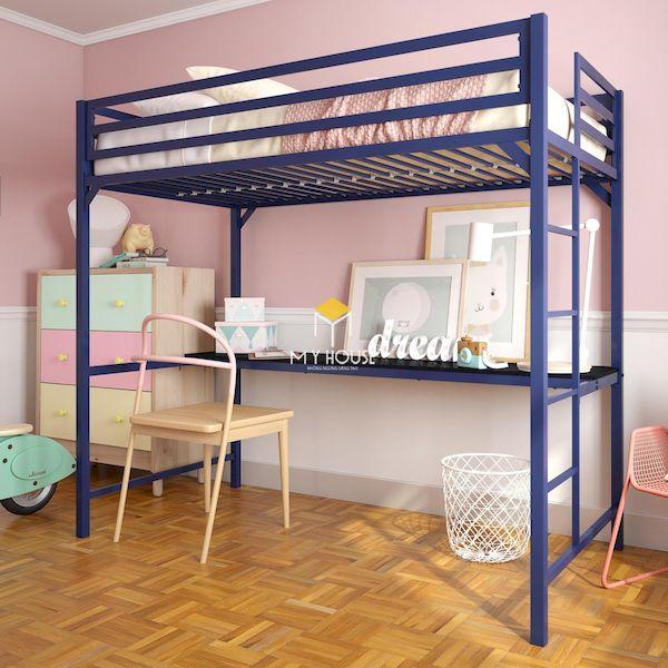 Mẫu giường tầng cho các bạn trẻ