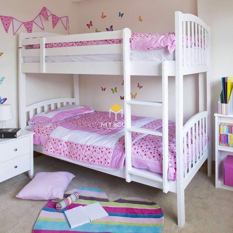 Mẫu giường tầng cho bé gái