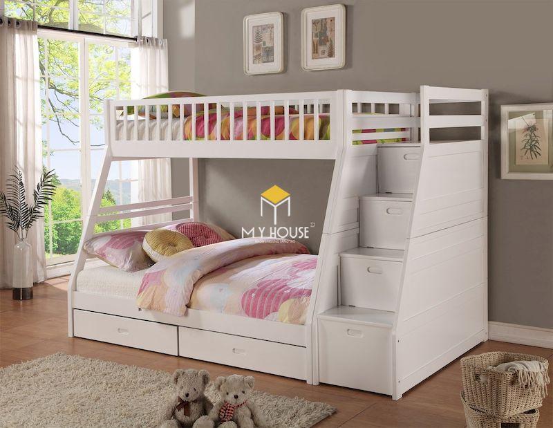 Mẫu giường tầng cho trẻ từ 10 tuổi