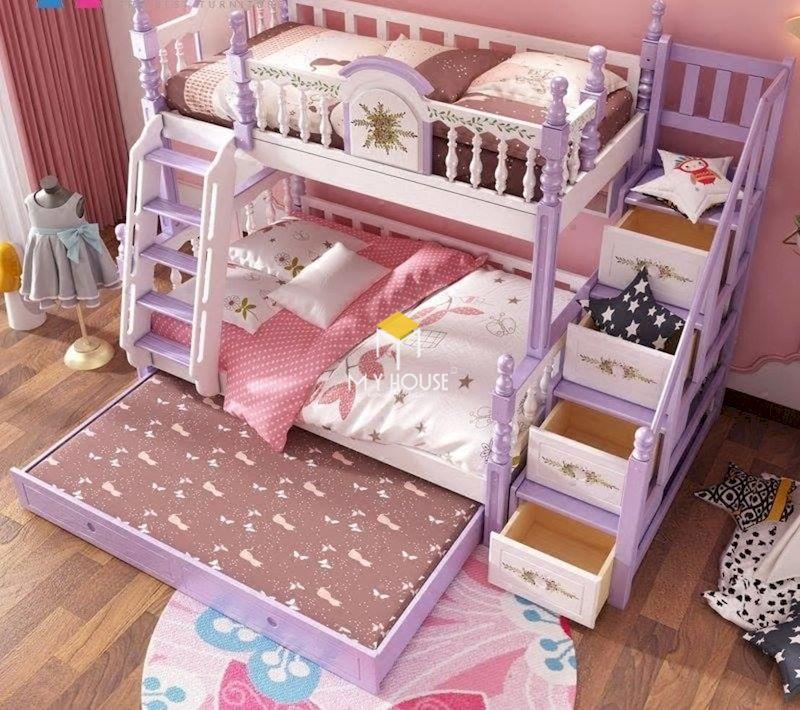 Mẫu giường tầng đẹp như lâu đài