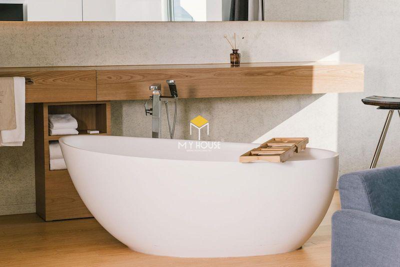 Kích thước bồn tắm vừa