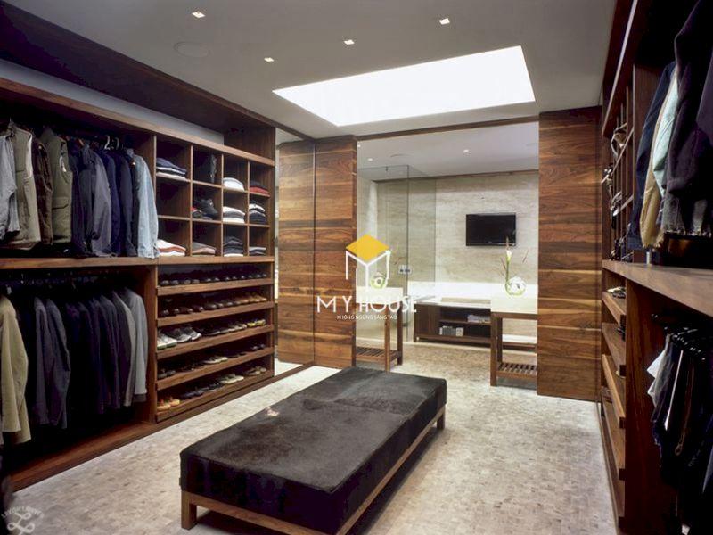 Phòng thay đồ phòng ngủ master 40m2