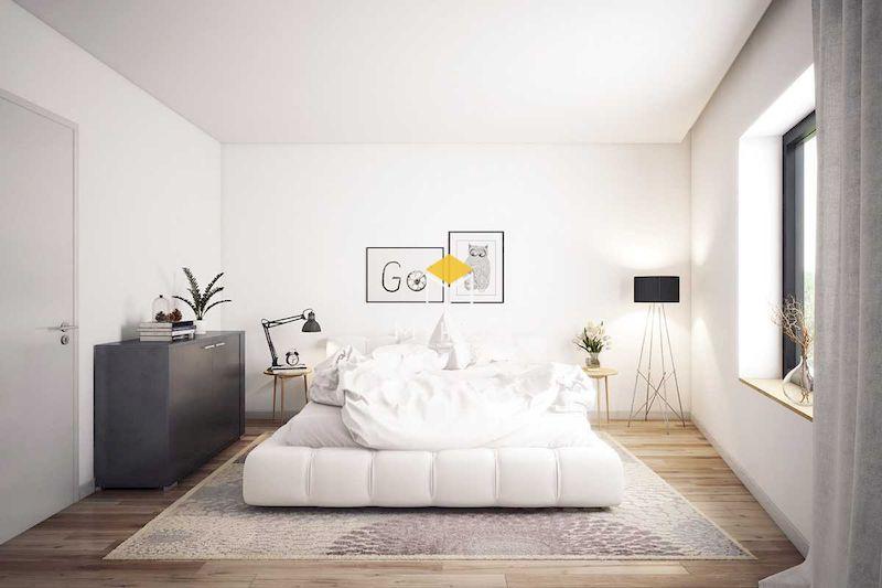 Với phòng ngủ tối giản màu trắng, hãy lược bớt những gì không quan trọng