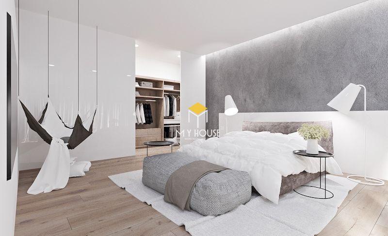 Xu hướng thiết kế nội thất phòng ngủ màu trắng