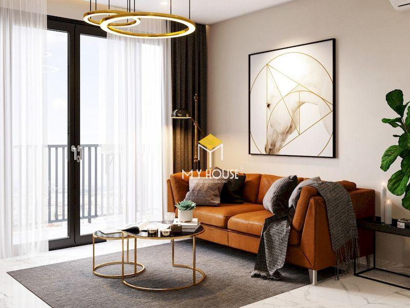 Thiết kế phòng sinh hoạt chung đẹp - diện tích 12 - 22m2