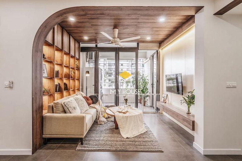 Thiết kế phòng sinh hoạt chung đẹp - trang trí nội thất đơn giản