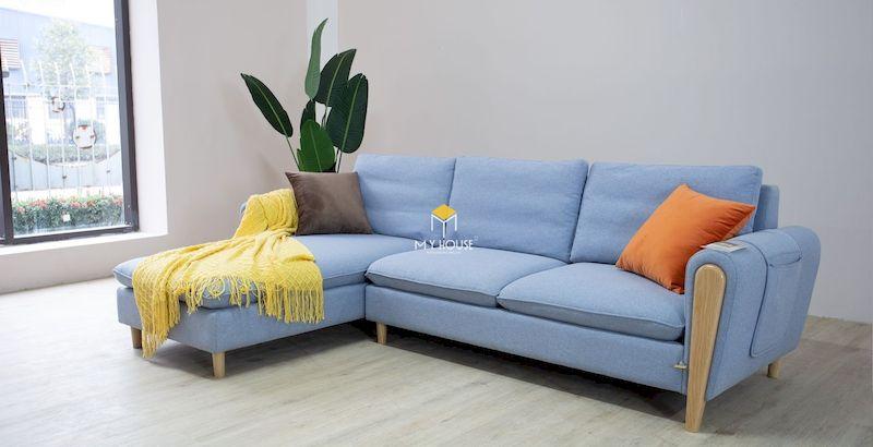 Sofa khung gỗ sồi giá rẻ