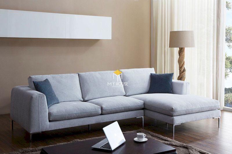 Ưu điểm của sofa nỉ chữ L