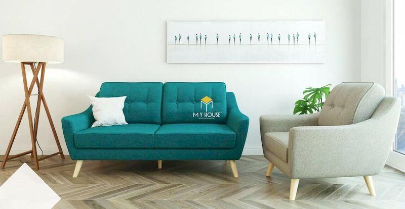 Vì sao nên lựa chọn sofa văng nỉ cho phòng khách nhỏ hẹp