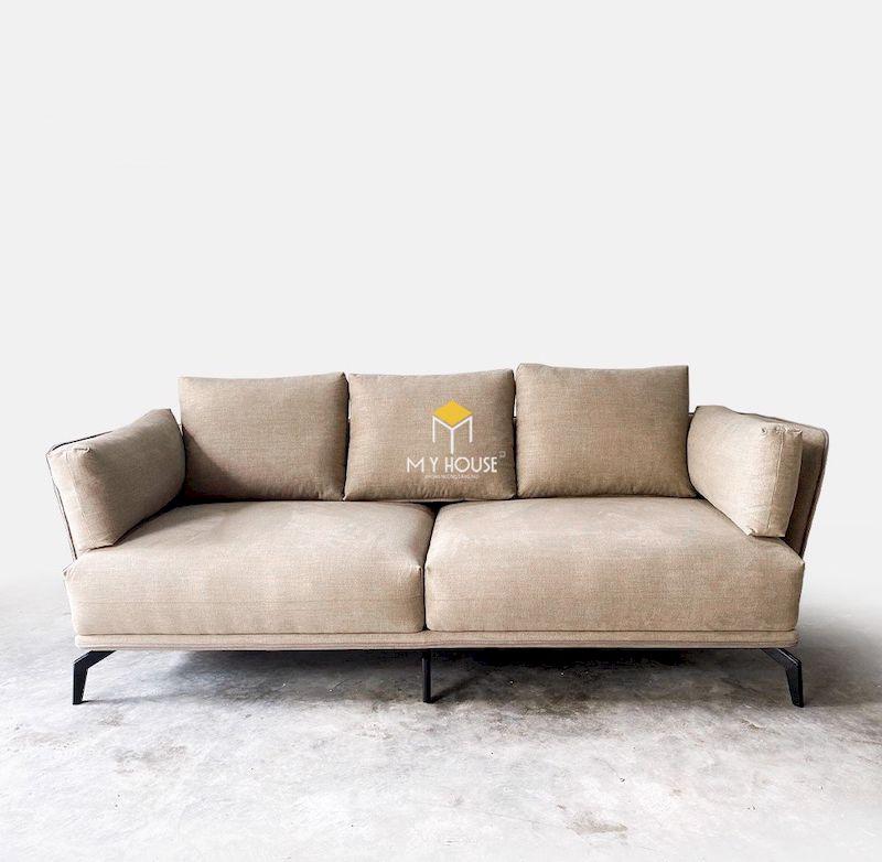 Sofa văng nỉ chân sắt chắc chắn