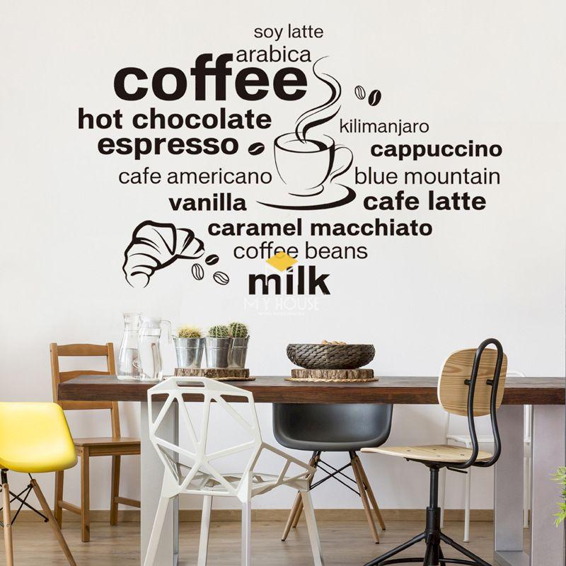 Trang trí quán trà sữa bằng tranh tường độc đáo