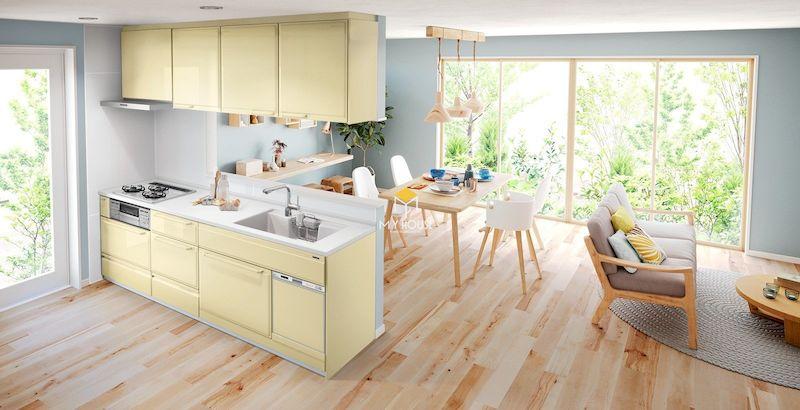 Tủ bếp gỗ công nghiệp MFC An Cường
