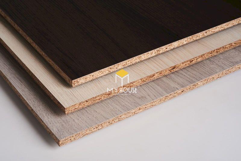 Tủ bếp công nghiệp cốt gỗ MFC