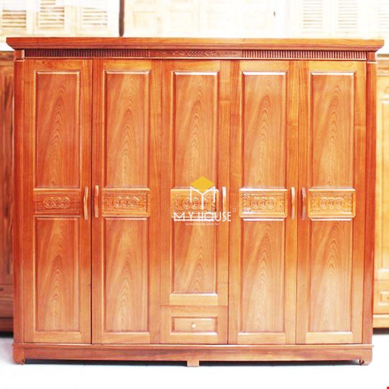 Tủ gỗ tự nhiên có độ bền cao và tuổi thọ sử dụng cao từ 30 năm - 40 năm
