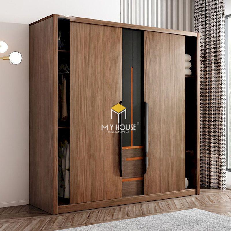 Tủ quần áo cửa lùa an toàn và dễ sử dụng cho người lớn và trẻ em