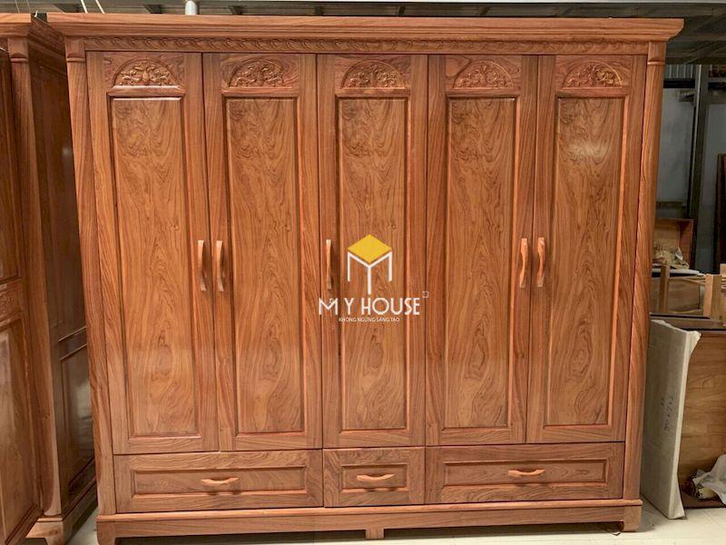 Tủ gỗ tự nhiên an toàn, không chất hóa học có hại.