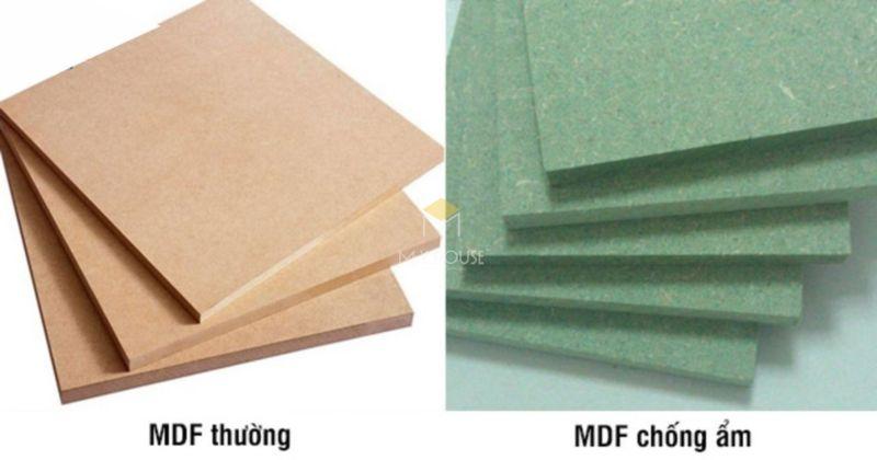 Tủ bếp gỗ công nghiệp MDF lõi xanh