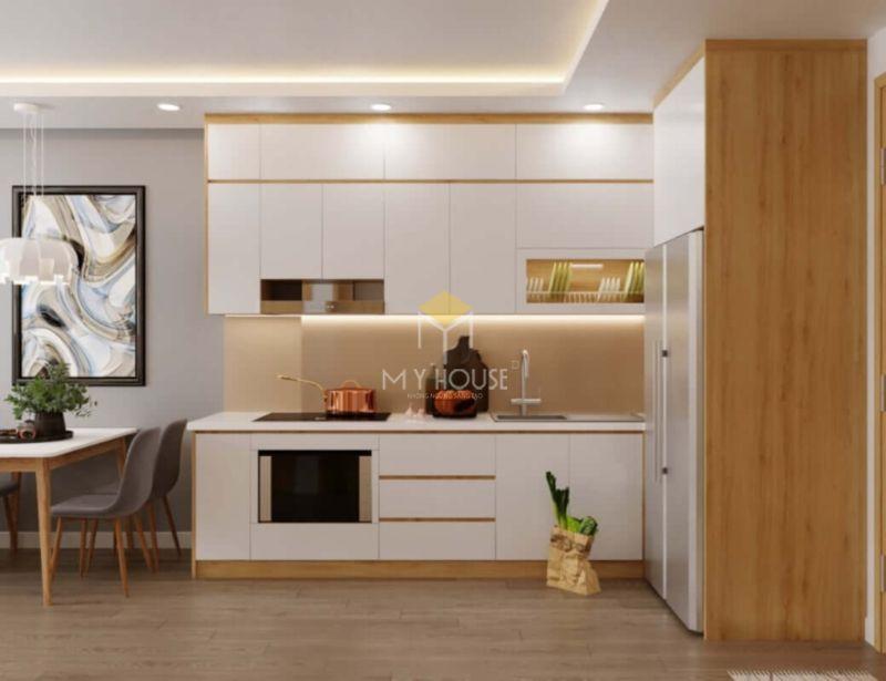Mẫu tủ bếp gỗ công nghiệp - 15