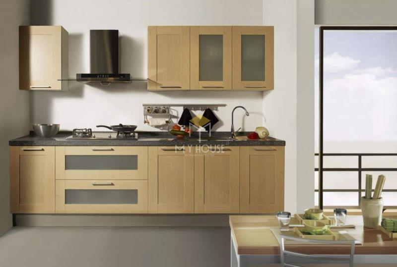 Mẫu tủ bếp gỗ công nghiệp - 08