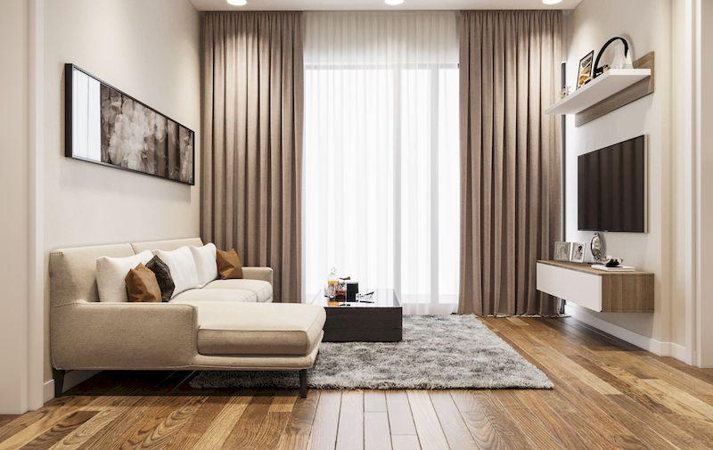 Mẫu combo nội thất phòng khách đơn giản