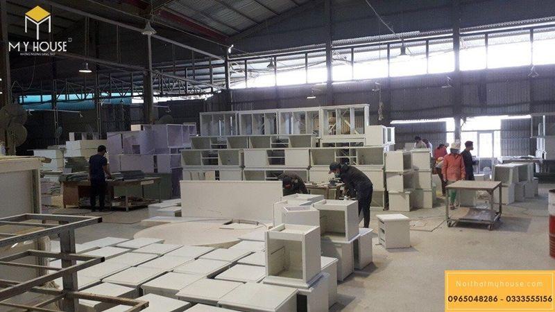 Nhà máy sản xuất nội thất gỗ công nghiệp theo đơn đặt hàng