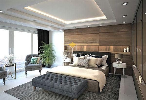Nội thất phòng ngủ phong cách châu Âu - Mẫu 01