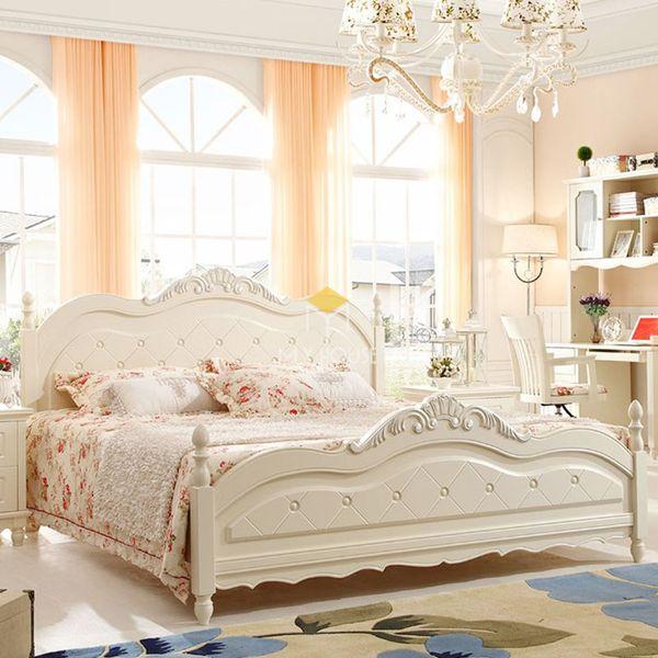 Nội thất phòng ngủ phong cách châu Âu - Mẫu 02