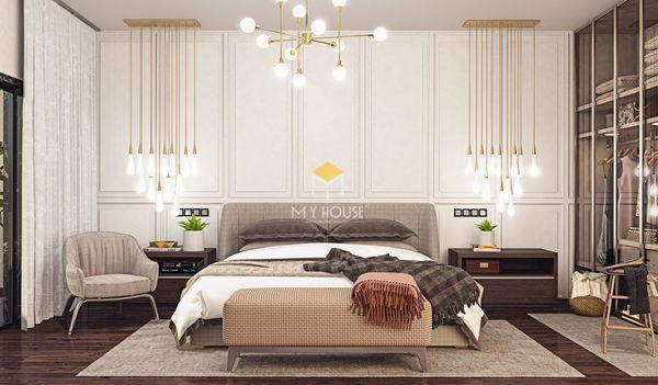 Nội thất phòng ngủ phong cách châu Âu tân cổ điển - 11