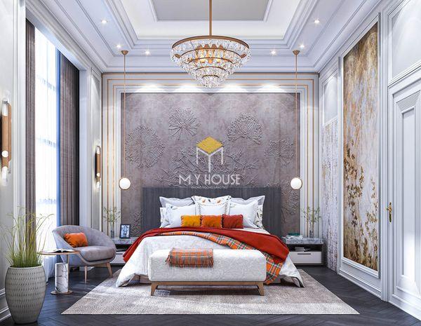 Phòng ngủ phong cách châu Âu tân cổ điển - Mẫu 04