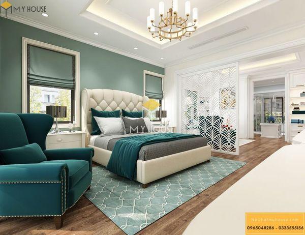 Nội thất phòng ngủ phong cách châu Âu - Mẫu 08